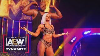 Check Out Shaq and Jade Cargill's Amazing Entrances | AEW Dynamite