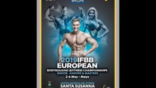 IFBB EUROPEAN CHAMPIONSHIPS 2019